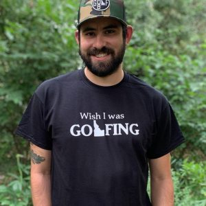 Wish I Was Golfing T-Shirt
